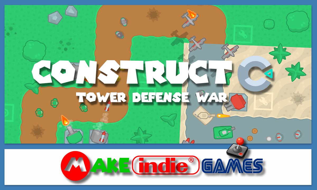 how to make a tower defense game in javascript