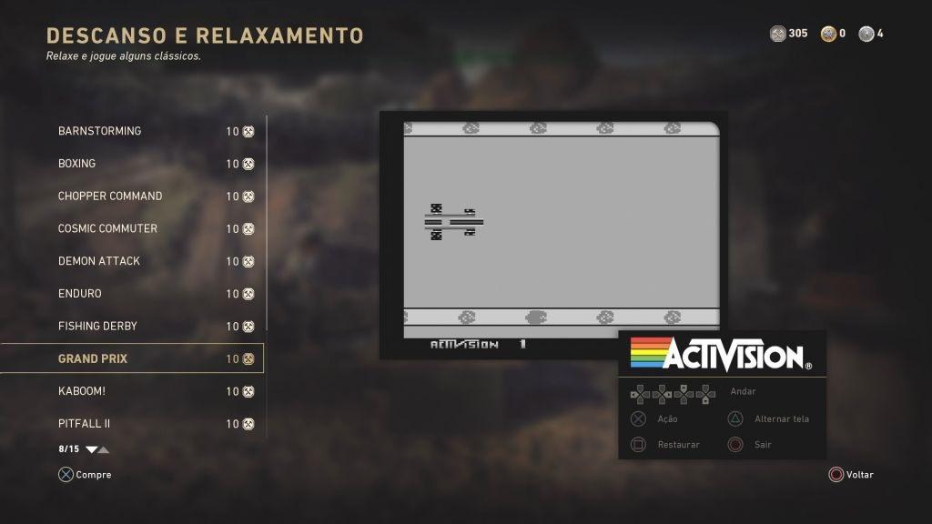 Jogos do Atari em WWII