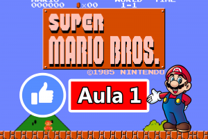 GameMaker - Criando o Jogo do Super Mario Bros #Aula1