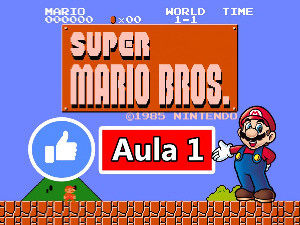 GameMaker - Criando o Jogo do Super Mario Bros #Aula1