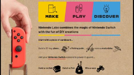 Labo - A nova invenção da Nintendo
