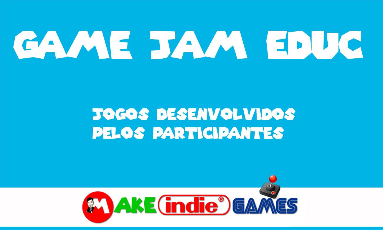 O que rolou na primeira Game Jam Educ