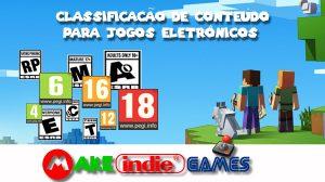 Classificação de Conteúdo para jogos eletrônicos