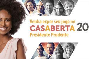 Venha expor seu jogo no Casa Aberta 2018 Presidente Prudente