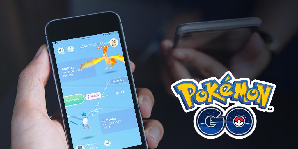 Abram caminho para os amigos, negociando e ganhando em Pokémon GO!