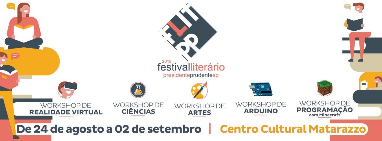 Venha aprender lógica de programação no Festival Literário de Presidente Prudente