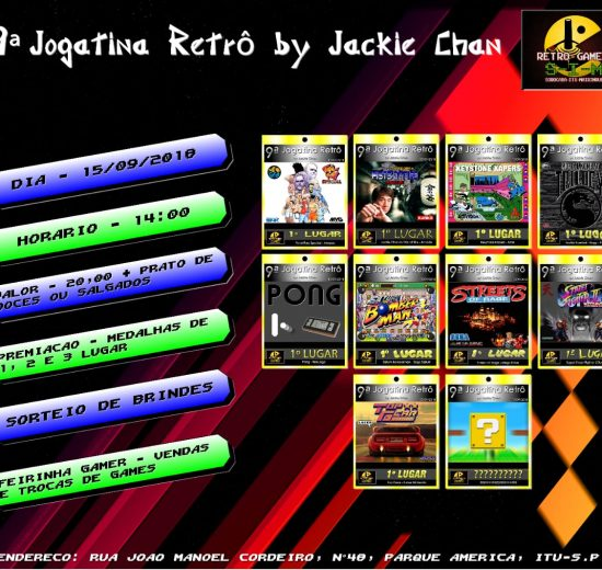 Jogatina Retrô by Jackie Chan
