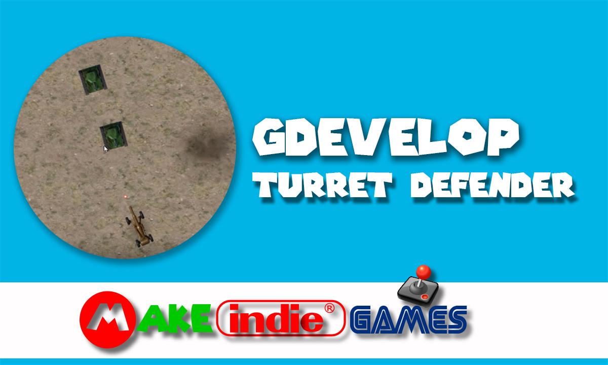 GDevelop Turret defender